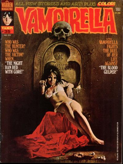 Cover for Vampirella (Warren, 1969 series) #35