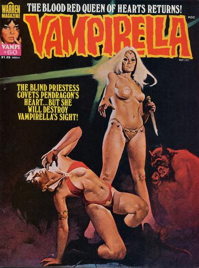 Cover for Vampirella (Warren, 1969 series) #60