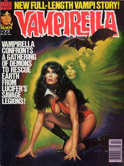 Cover for Vampirella (1969 series) #73