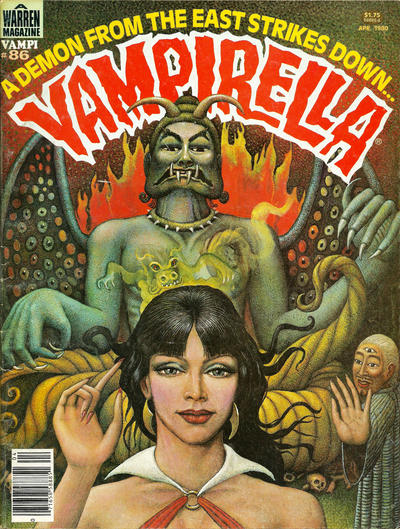 Cover for Vampirella (Warren, 1969 series) #86