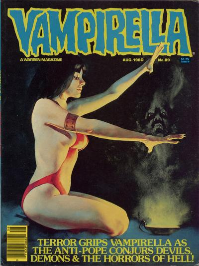 Cover for Vampirella (Warren, 1969 series) #89