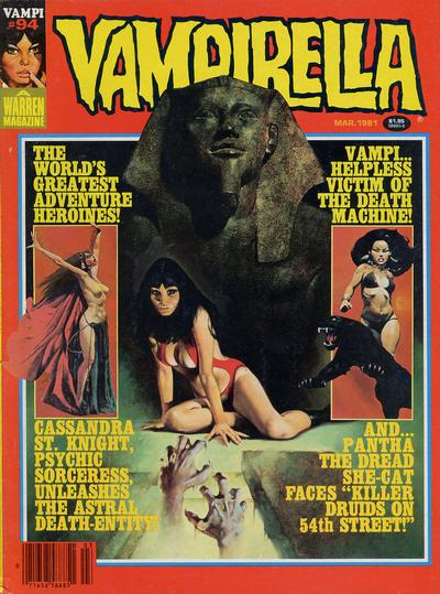 Cover for Vampirella (Warren, 1969 series) #94