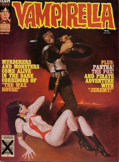 Cover for Vampirella (Warren, 1969 series) #104