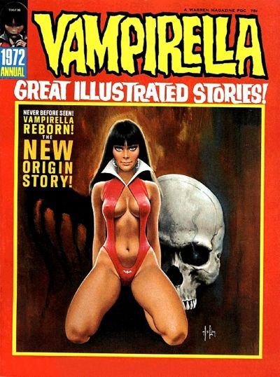 Cover for Vampirella Annual (Warren, 1972 series) #1