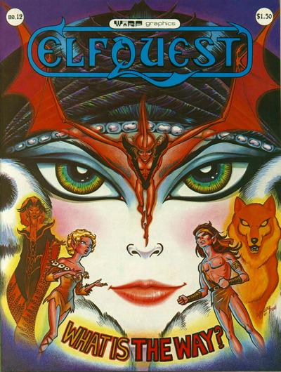Cover for ElfQuest (WaRP Graphics, 1978 series) #12