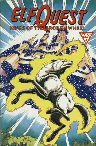 Cover for ElfQuest: Kings of the Broken Wheel (WaRP Graphics, 1990 series) #3