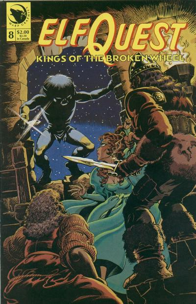 Cover for ElfQuest: Kings of the Broken Wheel (1990 series) #8