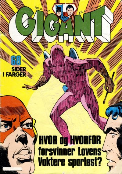 Cover for Gigant (Semic, 1977 series) #6/1977