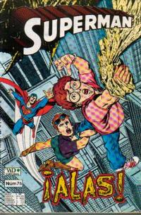 Cover Thumbnail for Supermán (Grupo Editorial Vid, 1986 series) #76