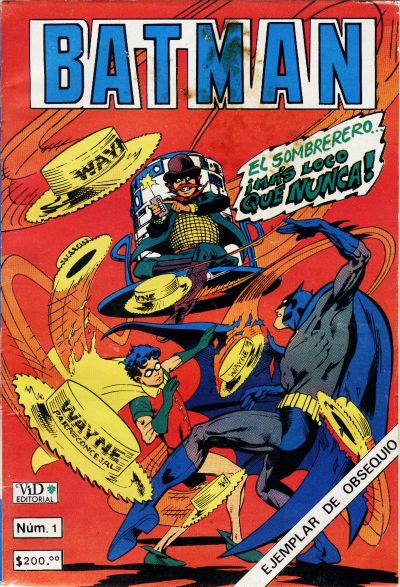 Cover for Batman (1987 series) #1