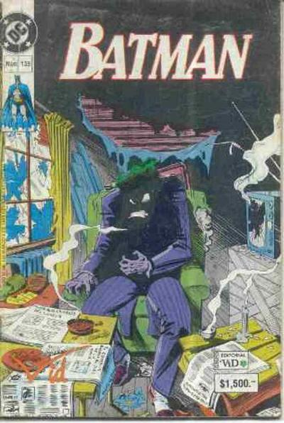 Cover for Batman (1987 series) #135