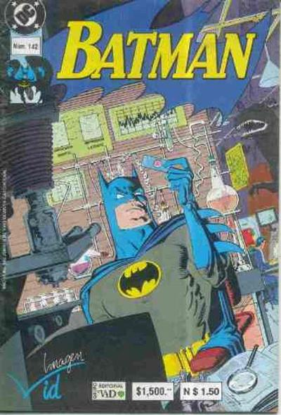 Cover for Batman (1987 series) #142