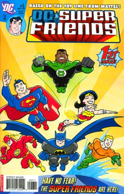 Cover for Super Friends (DC, 2008 series) #1
