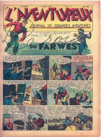 Cover Thumbnail for L' Aventureux (Editions Mondiales, 1936 series) #10/1941