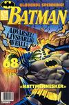 Cover for Batman (Semic, 1989 series) #1/1991