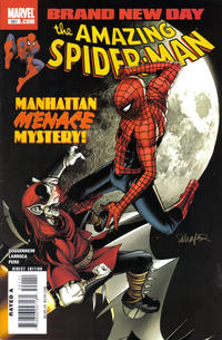 Cover for The Amazing Spider-Man (1999 series) #551
