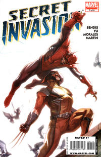 Cover Thumbnail for Secret Invasion (Marvel, 2008 series) #7 [Standard Cover]
