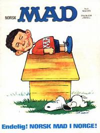 Cover Thumbnail for Mad (Williams Forlag, 1971 series) #1/1971