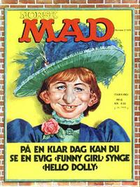 Cover Thumbnail for Norsk Mad (Illustrerte Klassikere / Williams Forlag, 1971 series) #2/1972