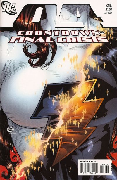 Cover for Countdown (DC, 2007 series) #4