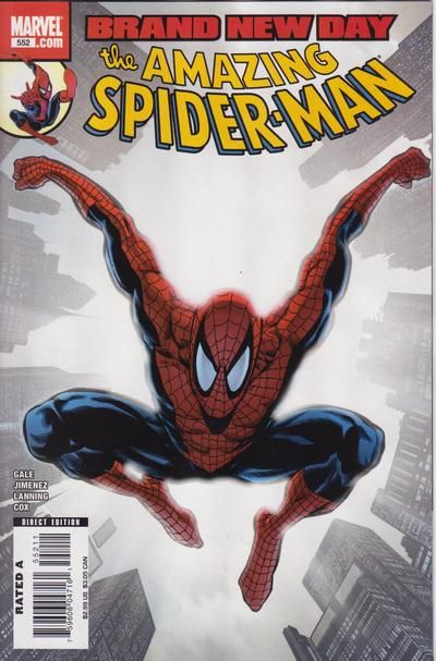 Cover for The Amazing Spider-Man (Marvel, 1999 series) #552