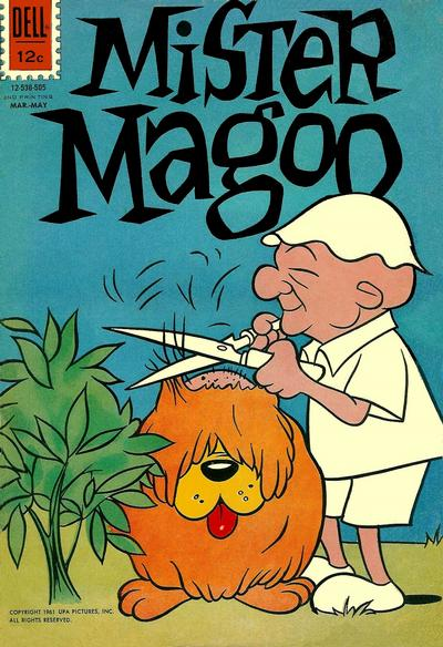 Cover for Four Color (Dell, 1942 series) #1235 [2nd] - Mister Magoo