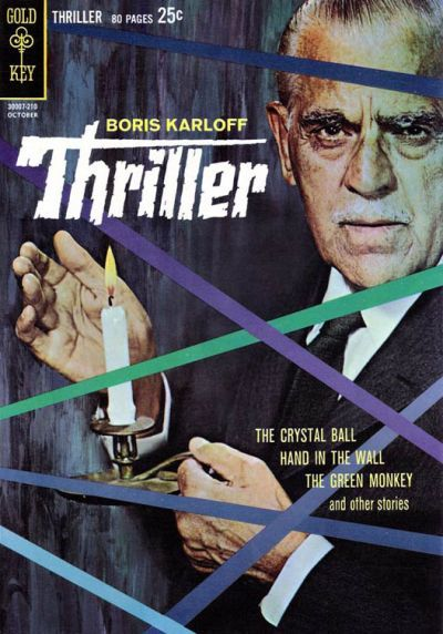 Cover for Boris Karloff Thriller (Western, 1962 series) #1