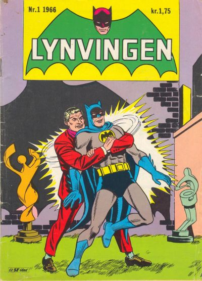 Cover for Lynvingen (1966 series) #1/1966