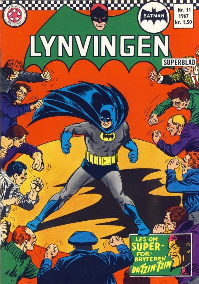Cover for Lynvingen (Se-Bladene - Stabenfeldt, 1966 series) #11/1967
