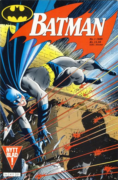 Cover for Batman (Semic, 1989 series) #1/1989