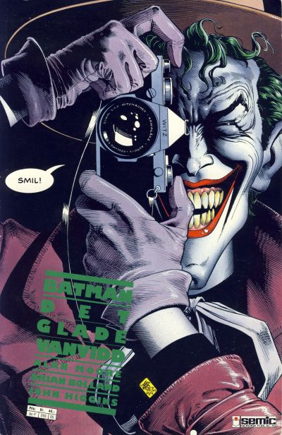 Cover for Batman: Det glade vanvidd (1989 series) #[nn]