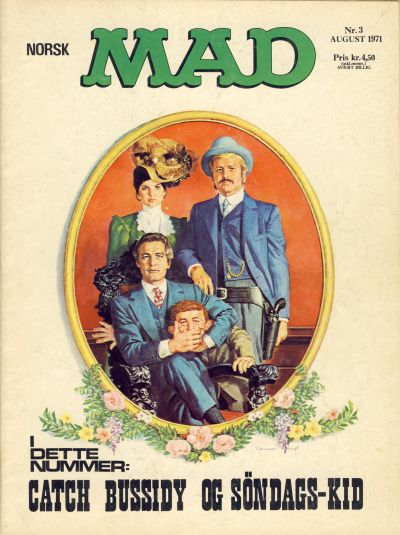 Cover for Norsk Mad (Illustrerte Klassikere / Williams Forlag, 1971 series) #3/1971
