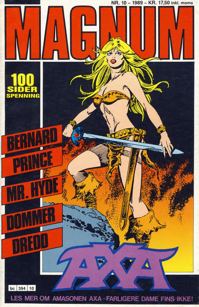 Cover for Magnum (1988 series) #10/1989