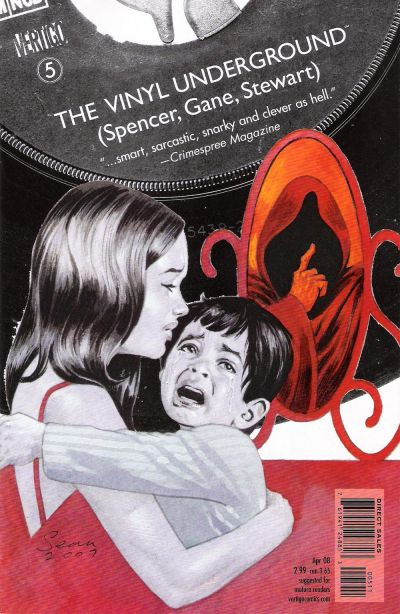 Cover for The Vinyl Underground (2007 series) #5