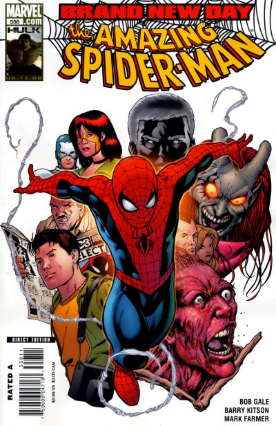 Cover for The Amazing Spider-Man (Marvel, 1999 series) #558