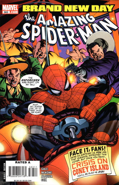 Cover for The Amazing Spider-Man (Marvel, 1999 series) #563