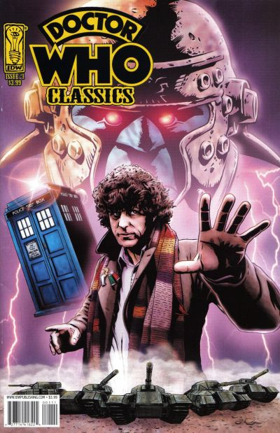 Cover for Doctor Who Classics (2007 series) #1 [Regular Cover]