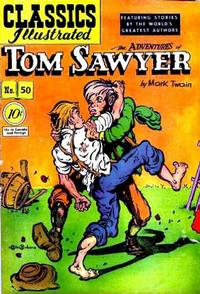 Cover Thumbnail for Classics Illustrated (Gilberton, 1947 series) #50 [O] - The Adventures of Tom Sawyer