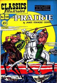 Cover Thumbnail for Classics Illustrated (Gilberton, 1947 series) #58 [O] - The Prairie