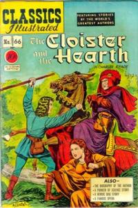 Cover Thumbnail for Classics Illustrated (Gilberton, 1947 series) #66 [O] - The Cloister and the Hearth