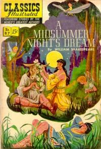 Cover Thumbnail for Classics Illustrated (Gilberton, 1947 series) #87 [O] - A Midsummer Night's Dream