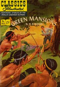 Cover Thumbnail for Classics Illustrated (Gilberton, 1947 series) #90 [O] - Green Mansions