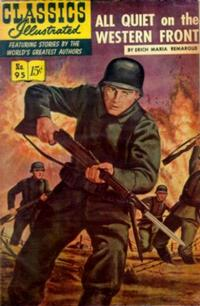 Cover Thumbnail for Classics Illustrated (Gilberton, 1947 series) #95 [O] - All Quiet on the Western Front
