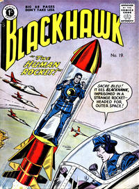 Cover Thumbnail for Blackhawk (Thorpe & Porter, 1956 series) #19
