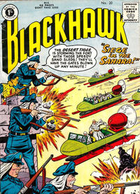 Cover Thumbnail for Blackhawk (Thorpe & Porter, 1956 series) #20
