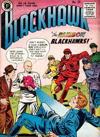 Cover Thumbnail for Blackhawk (Thorpe & Porter, 1956 series) #28