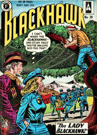 Cover Thumbnail for Blackhawk (Thorpe & Porter, 1956 series) #30