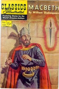 Cover Thumbnail for Classics Illustrated (Gilberton, 1947 series) #128 [O] - Macbeth