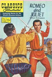 Cover Thumbnail for Classics Illustrated (Gilberton, 1947 series) #134 [O] - Romeo and Juliet