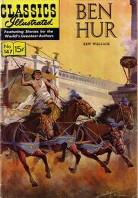 Cover Thumbnail for Classics Illustrated (Gilberton, 1947 series) #147 [O] - Ben Hur